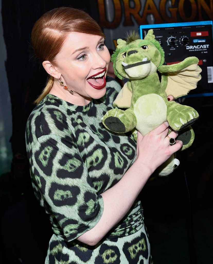 Bryce Dallas Howard at the Pete's Dragon Premiere in Los Angeles 08/08/2016-4