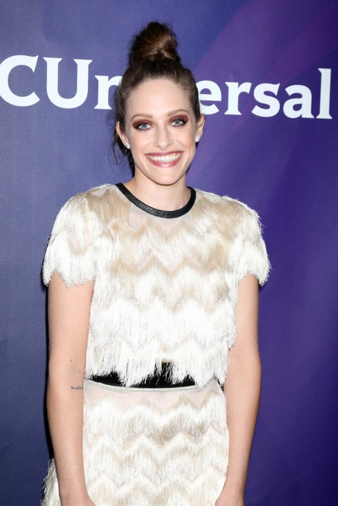Carly Chaikin at NBC Universal Cable TCA Summer 2016 Press Tour at Beverly Hilton Hotel in Pasadena 08/03/2016-4