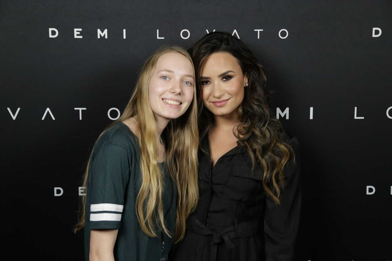 meet and greet demi lovato brazil 2016