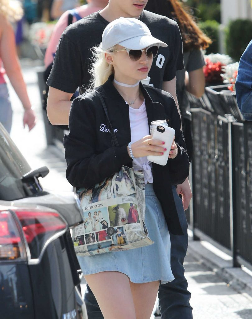 Dove Cameron Was Seen Out in Vancouver 08/22/2016-2