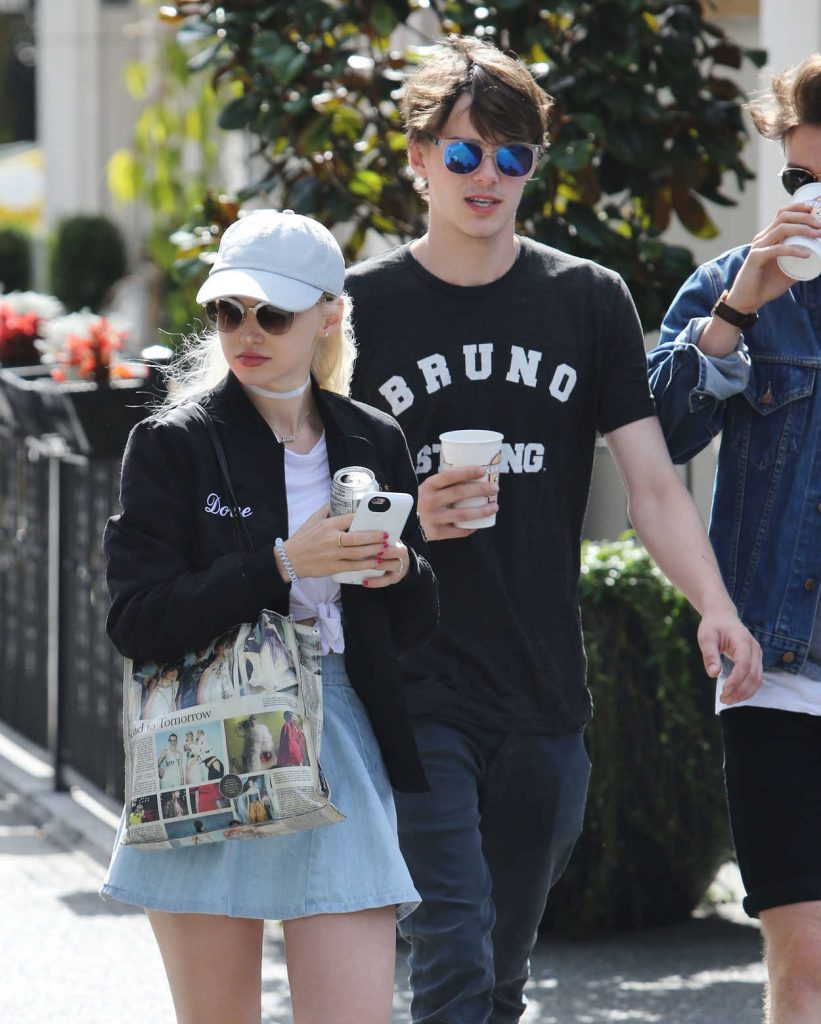 Dove Cameron Was Seen Out in Vancouver 08/22/2016-4