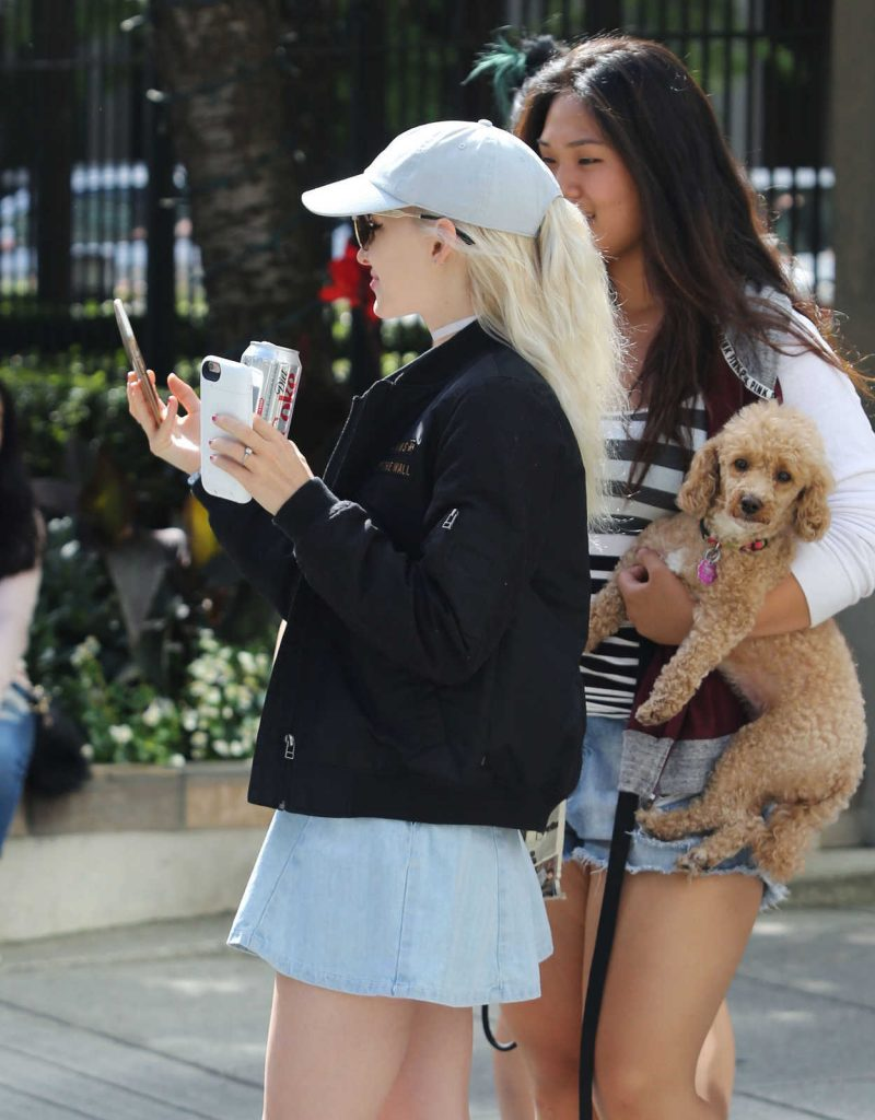 Dove Cameron Was Seen Out in Vancouver 08/22/2016-5