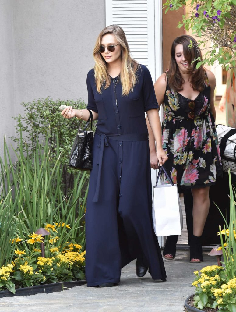 Elizabeth Olsen Arrives to the In Style Gifting Suite in Brentwood, California 08/14/2016-3