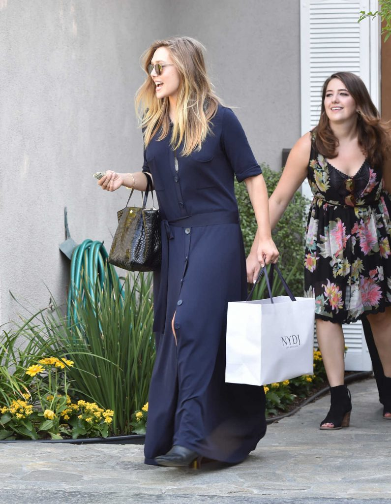 Elizabeth Olsen Arrives to the In Style Gifting Suite in Brentwood, California 08/14/2016-4