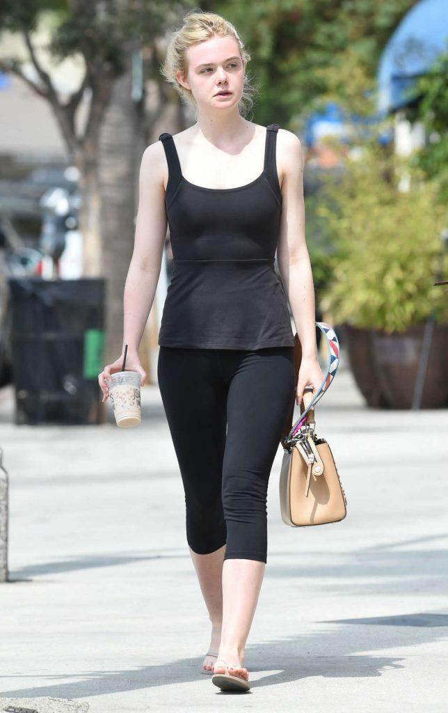 Elle Fanning Was Seen Out in Los Angeles 08/27/2016-1