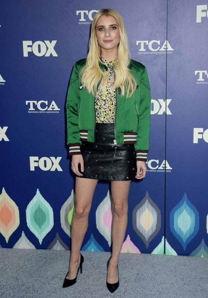 Emma Roberts at 2016 FOX Summer TCA Press Tour Party in Los Angeles 08/08/2016-1