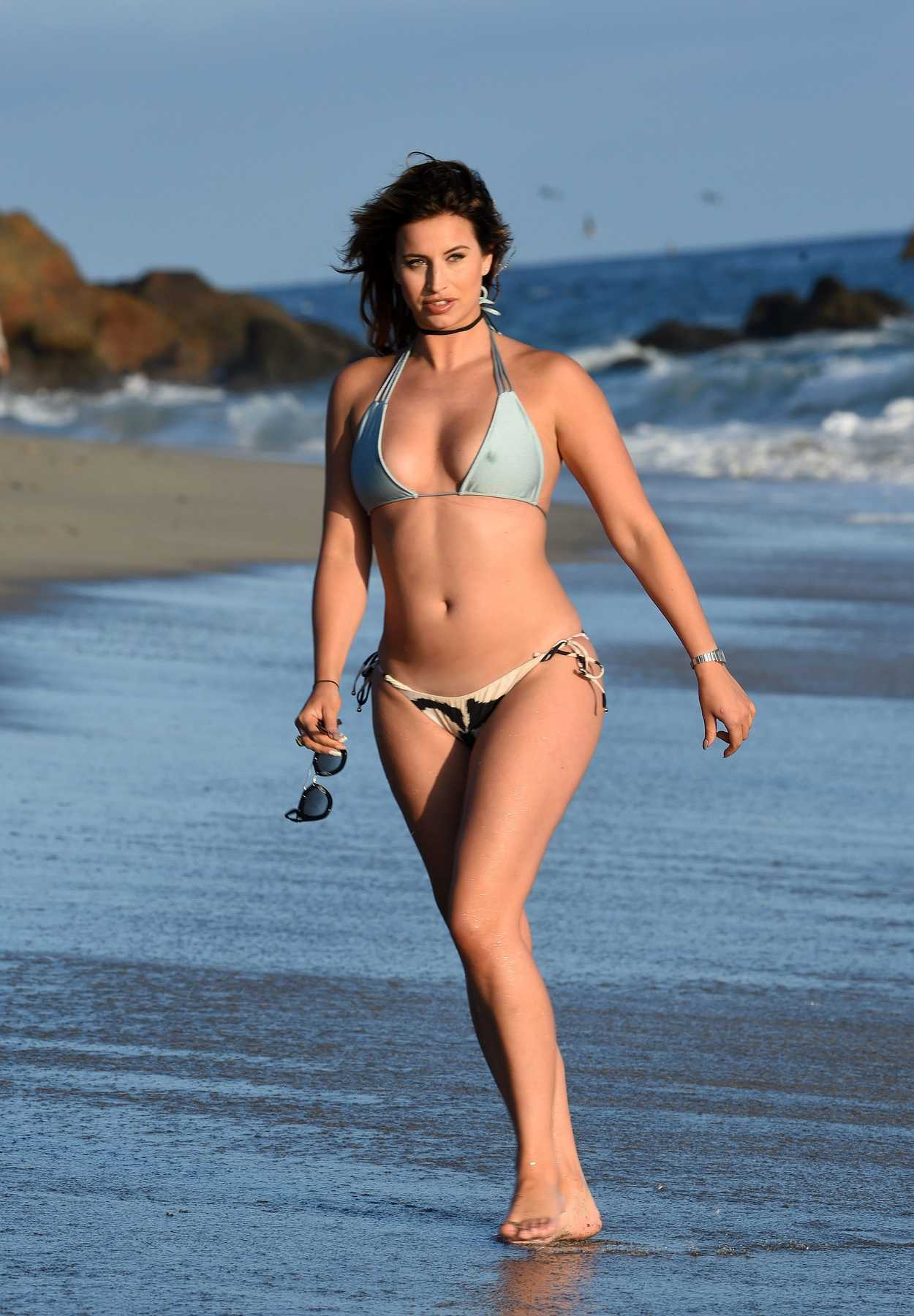 Ferne McCann in Bikini at the Beach in Los Angeles 07/07 ...