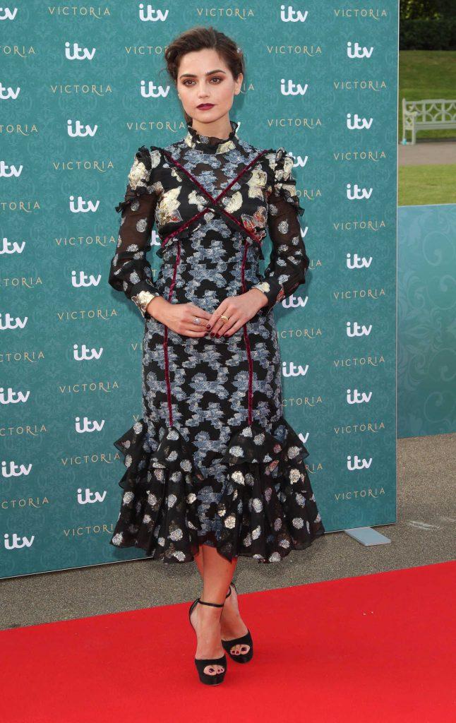 Jenna Coleman at the ITV's Victoria World Premiere 08/11/2016-1
