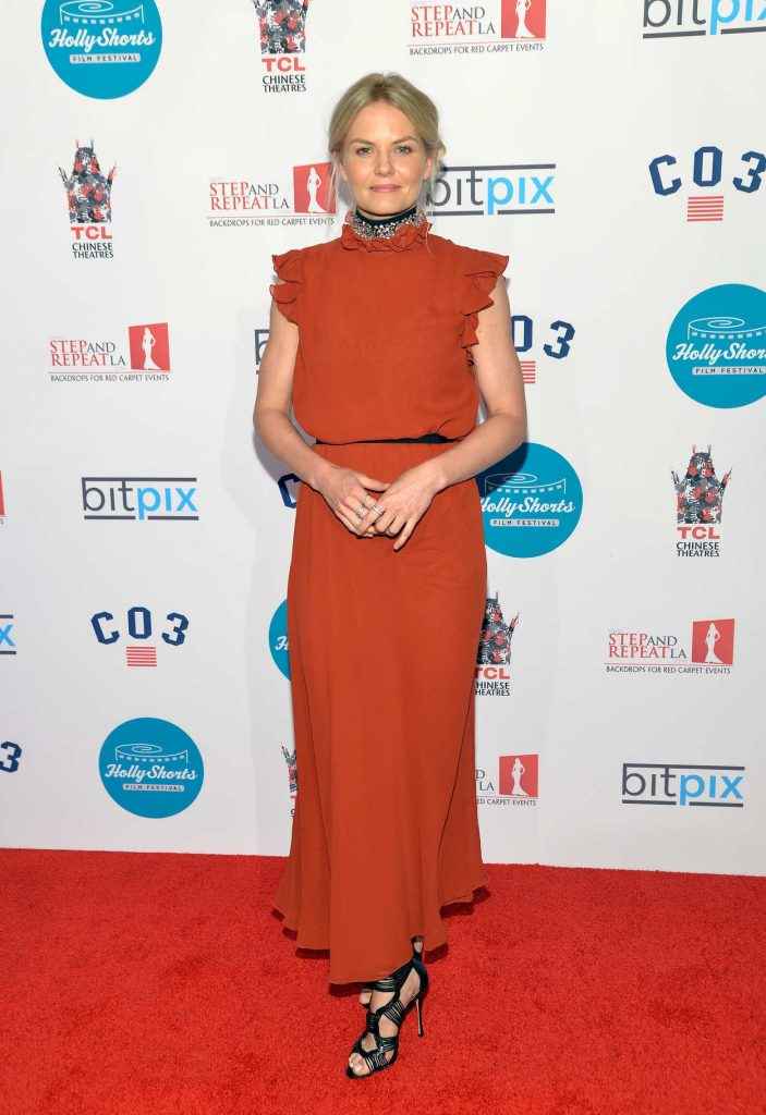 Jennifer Morrison at 12th Annual HollyShorts Opening Night Celebration in Hollywood 08/11/2016-1