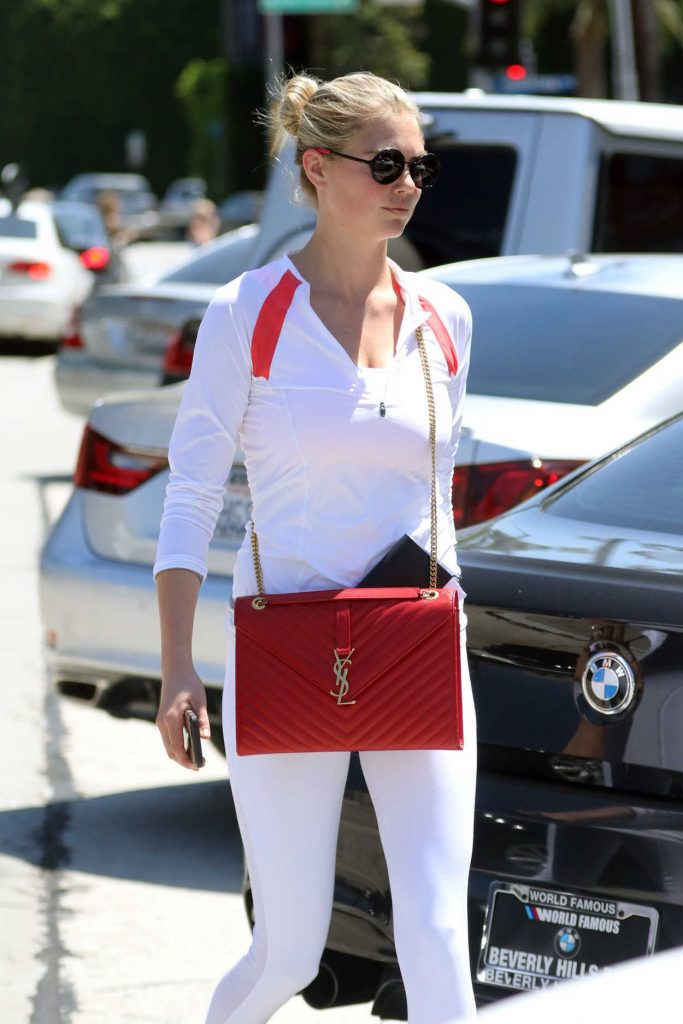 Kate Upton Goes Shopping at Mayfield in West Hollywood 08/19/2016-5