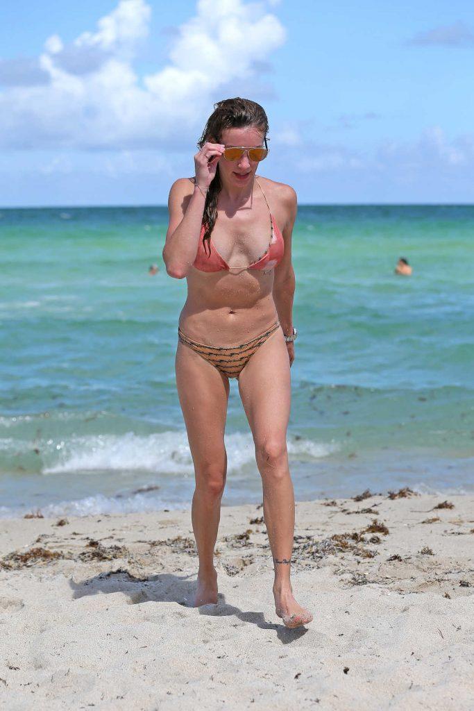 Katie Cassidy in Bikini at the Beach in Miami 08/12/2016-5