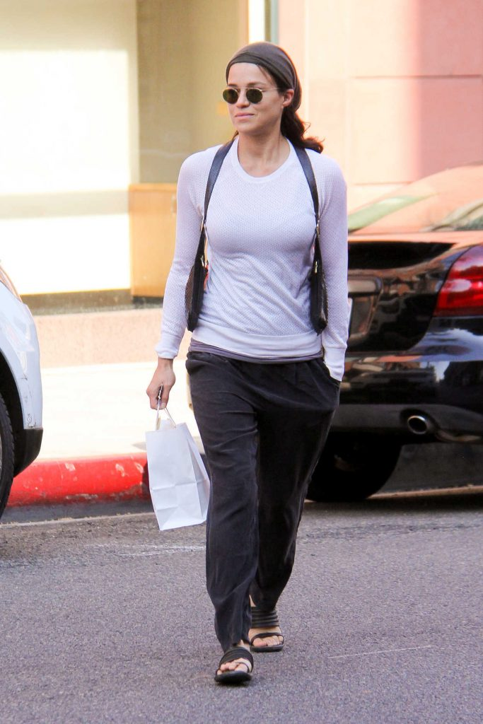 Michelle Rodriguez at Anastasia in Beverly Hills 08/23/2016-3