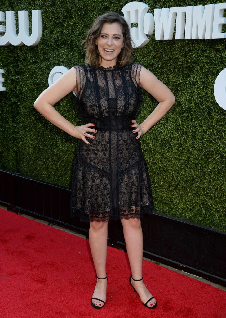 Rachel Bloom at 2016 CBS, CW and Showtime TCA Summer Press Tour Party in Westwood 08/10/2016-1