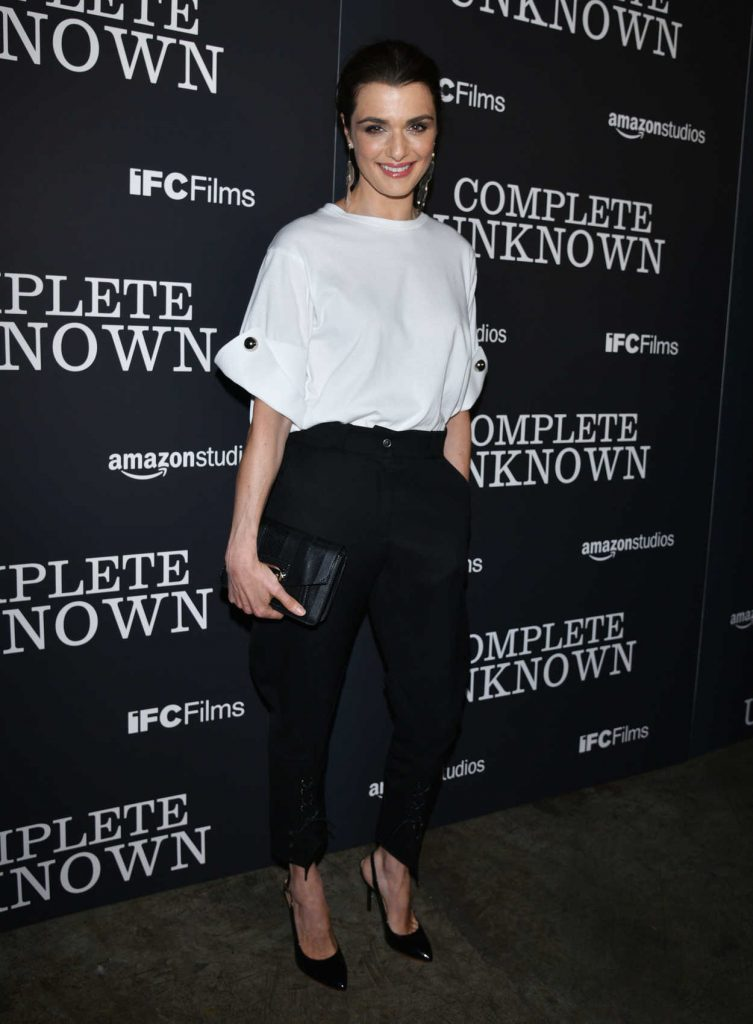 Rachel Weisz at Complete Unknown Premiere in New York 08/23/2016-2