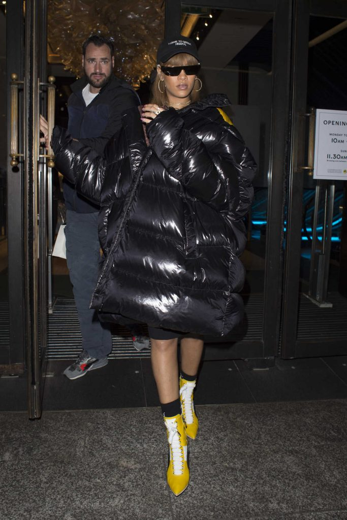 Rihanna Leaves Harrods Deparment Store in London 08/20/2016-1