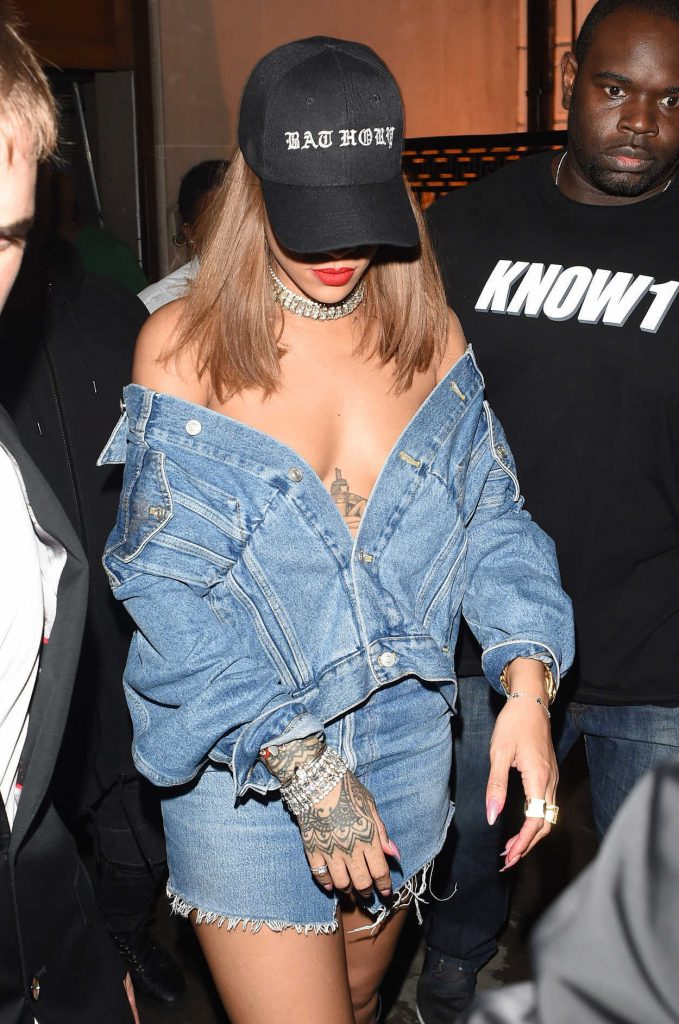 Rihanna Was Spotted at Tape Nightclub in London 08/20/2016-2