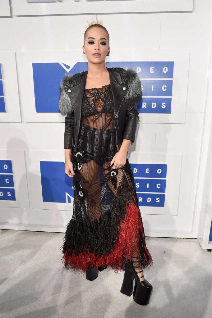 Rita Ora at 2016 MTV Video Music Awards at Madison Square Garden in New York 08/28/2016-1
