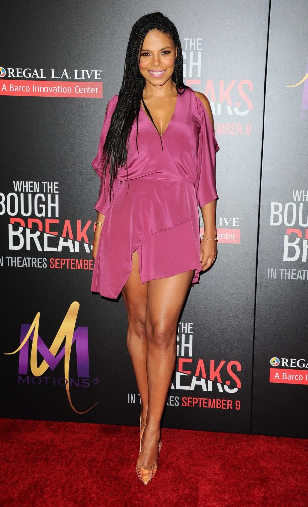 Sanaa Lathan at the When the Bough Breaks Premiere in Los Angeles 08/28/2016-1