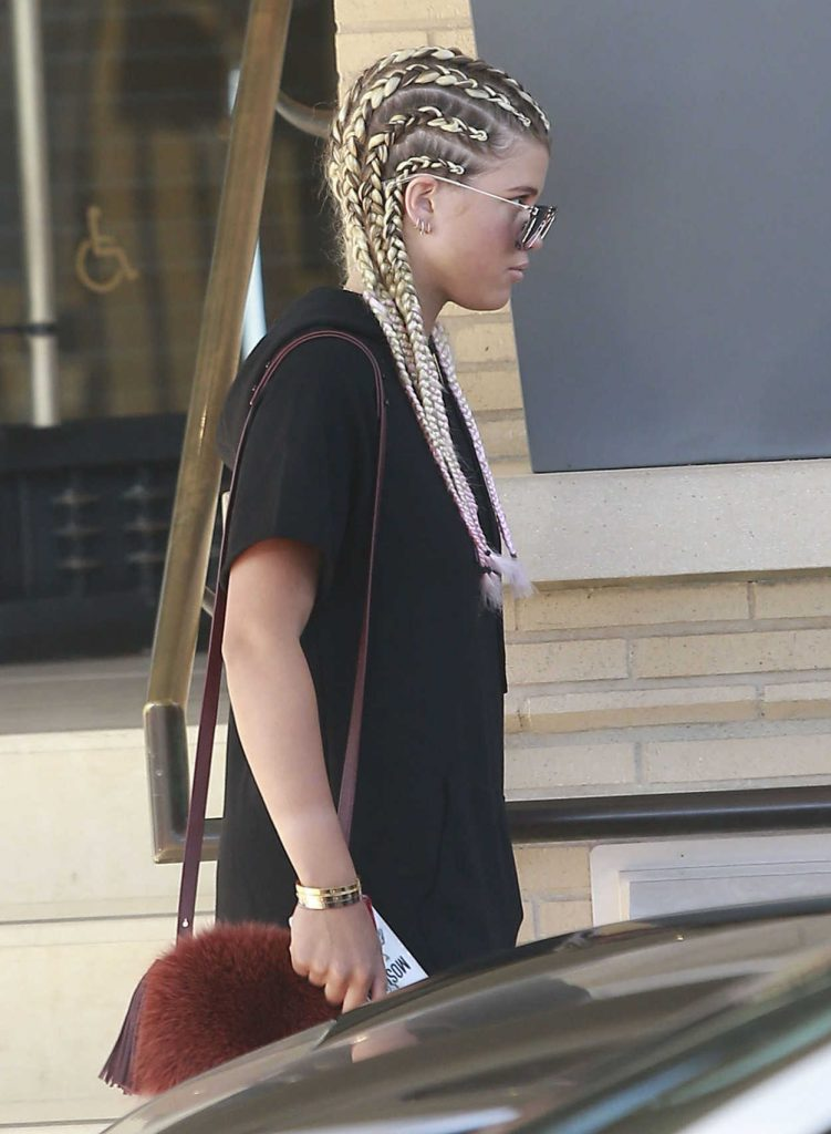 Sofia Richie Goes Shopping at Barneys New York in Beverly Hills 08/04/2016-5