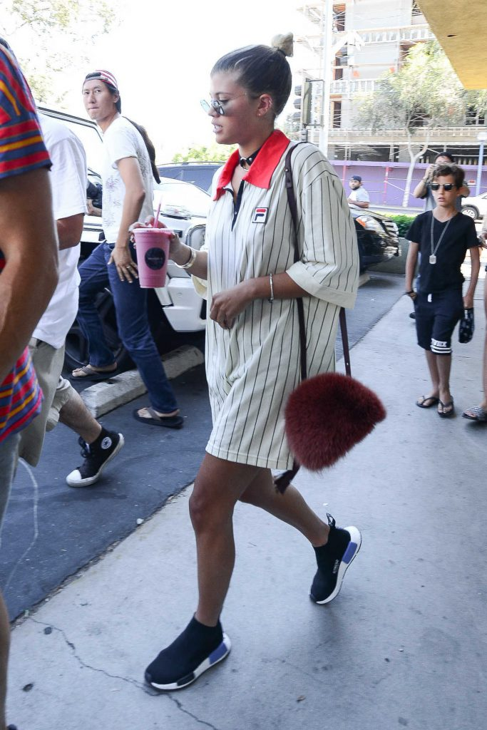 Sofia Richie Leaves Mauro's Restaurant at Fred Segal in West Hollywood 08/18/2016-5