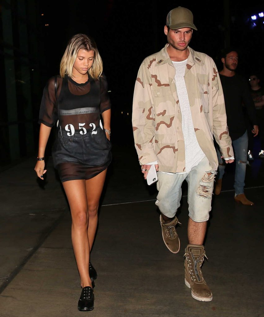Sofia Richie Leaves Staples Center in Los Angeles 08/21/2016-5