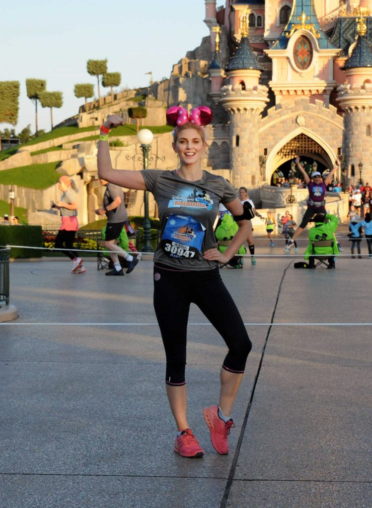 Ashley James at the Disneyland Paris Half Marathon Weekend Event 09/24/2016-4