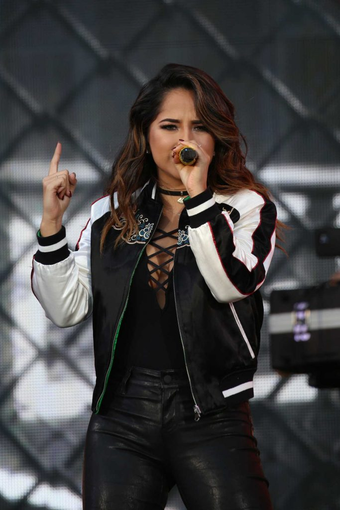 Becky G at the 2016 Global Citizen Festival in New York 09/24/2016-4