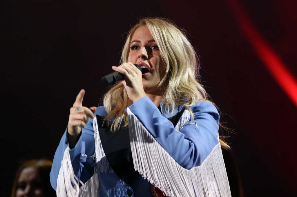 Ellie Goulding at the 2016 Global Citizen Festival in New York 09/24/2016-4