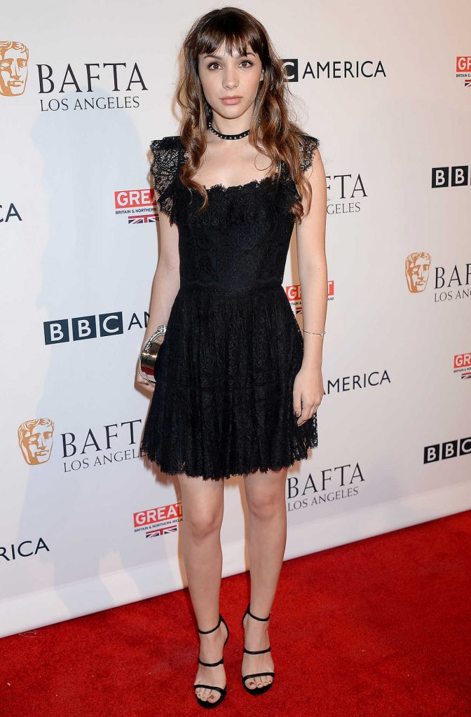 Hannah Marks at the BBC America BAFTA Los Angeles TV Tea Party in West Hollywood 09/17/2016-1