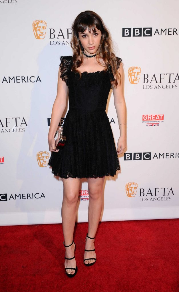 Hannah Marks at the BBC America BAFTA Los Angeles TV Tea Party in West Hollywood 09/17/2016-2