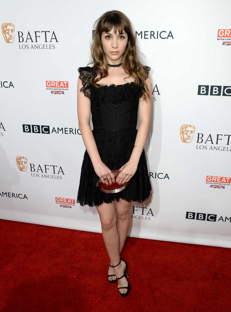 Hannah Marks at the BBC America BAFTA Los Angeles TV Tea Party in West Hollywood 09/17/2016-3