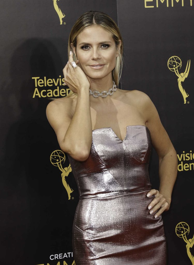 Heidi Klum at the 2016 Creative Arts Emmy Awards at the Microsoft Theater in Los Angeles 09/11/2016-1