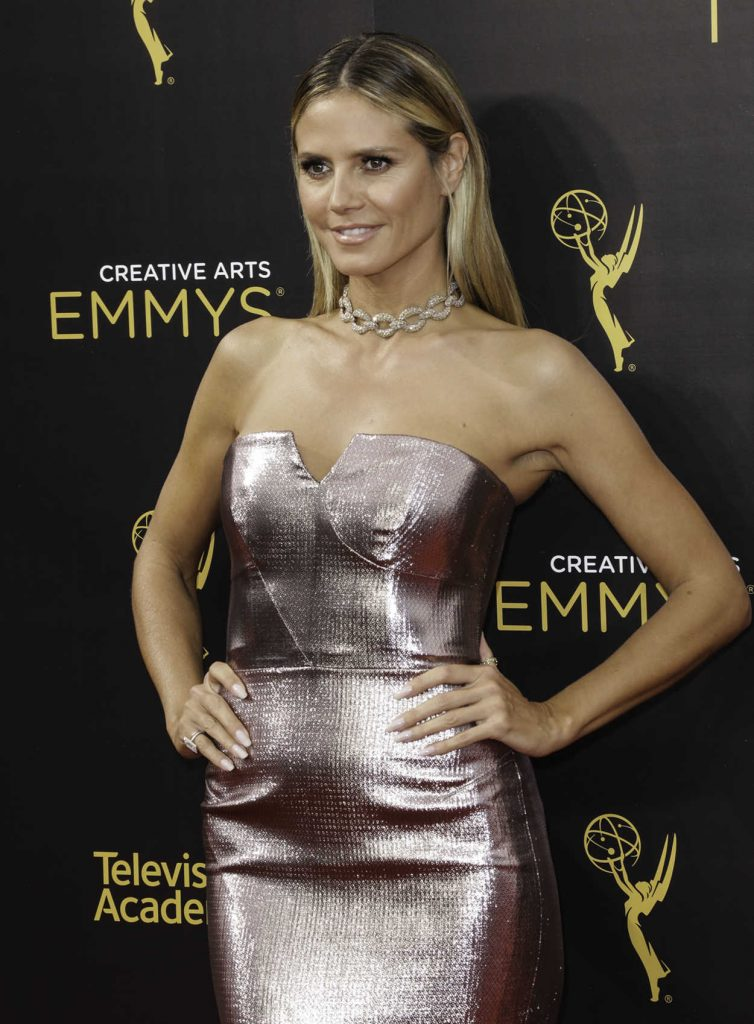 Heidi Klum at the 2016 Creative Arts Emmy Awards at the Microsoft Theater in Los Angeles 09/11/2016-2