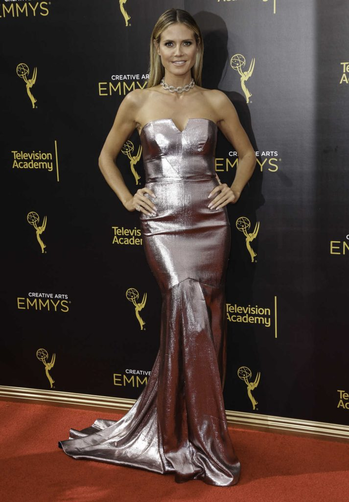 Heidi Klum at the 2016 Creative Arts Emmy Awards at the Microsoft Theater in Los Angeles 09/11/2016-4