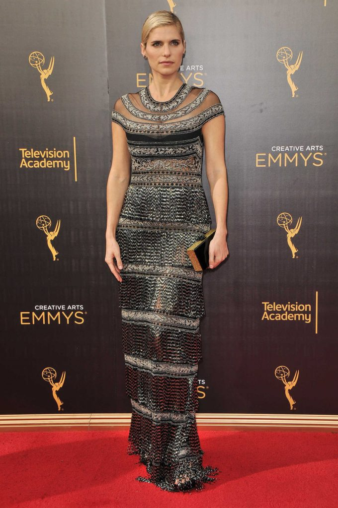Lake Bell at the 2016 Creative Arts Emmys in Los Angeles 09/11/2016-1
