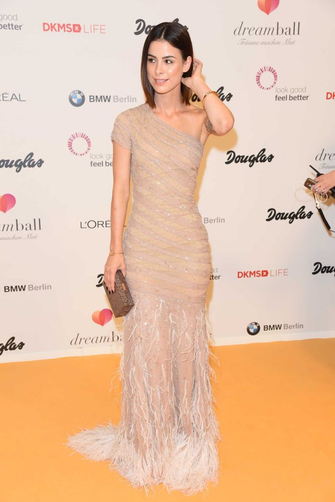 Lena Meyer-Landrut at the DKMS Dreamball 2016 in Berlin 09/29/2016-1