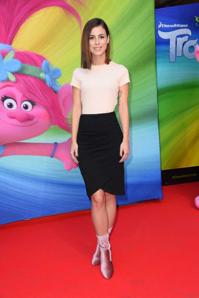 Lena Meyer-Landrut at the Trolls Photocall in Berlin 09/26/2016-1
