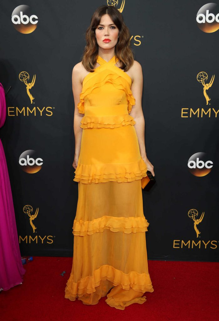 Mandy Moore at the 68th Emmy Awards in Los Angeles 09/18/2016-1