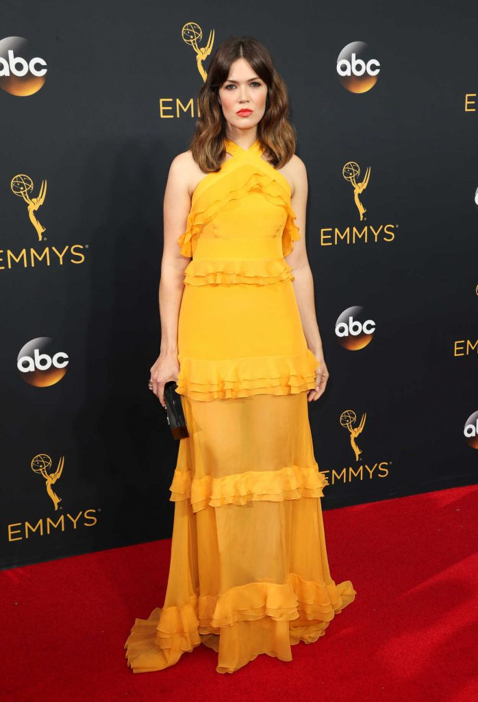 Mandy Moore at the 68th Emmy Awards in Los Angeles 09/18/2016-2