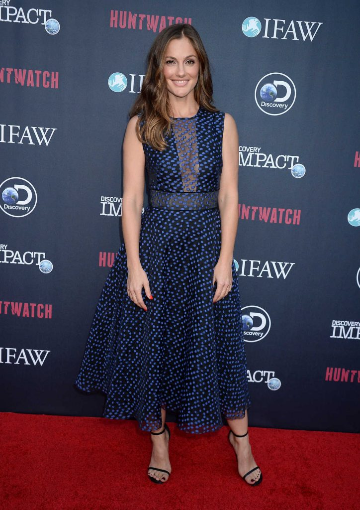 Minka Kelly at the Huntwatch Documentary Special Screening in Los Angeles 09/15/2016-1