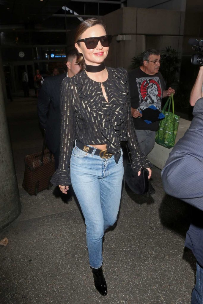 Miranda Kerr Arrives at LAX Airport in Los Angeles 09/27/2016-2