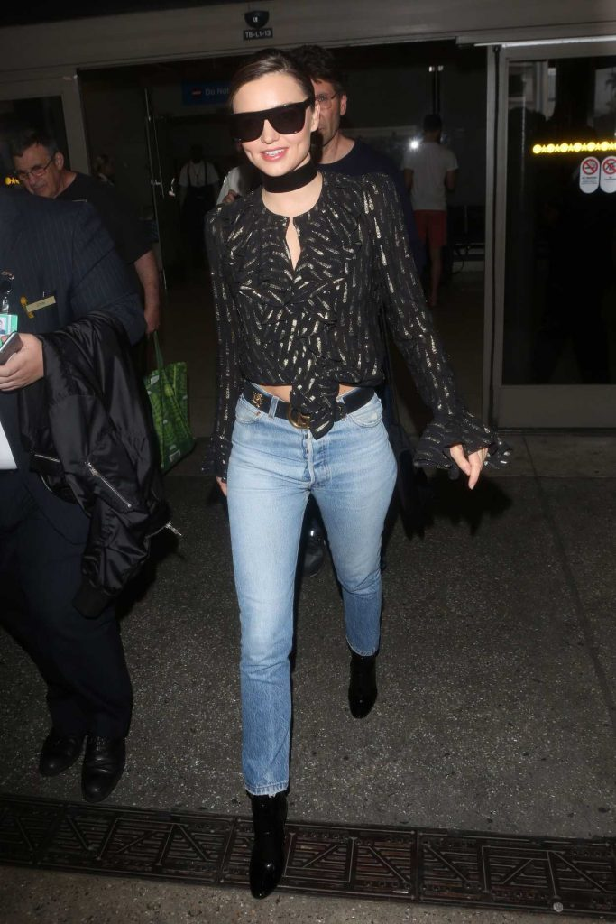 Miranda Kerr Arrives at LAX Airport in Los Angeles 09/27/2016-3