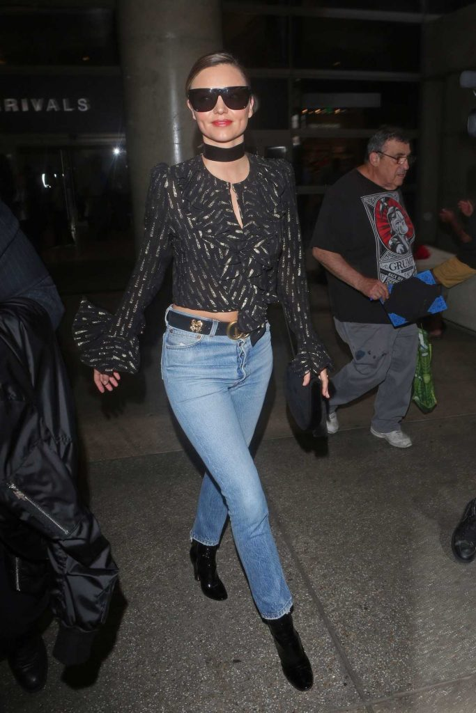 Miranda Kerr Arrives at LAX Airport in Los Angeles 09/27/2016-5
