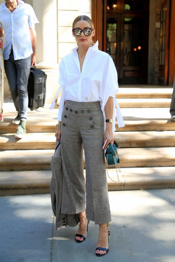 Olivia Palermo Attends Carolina Herrera SS17 at Frick Collection in New York City 09/12/2016-1