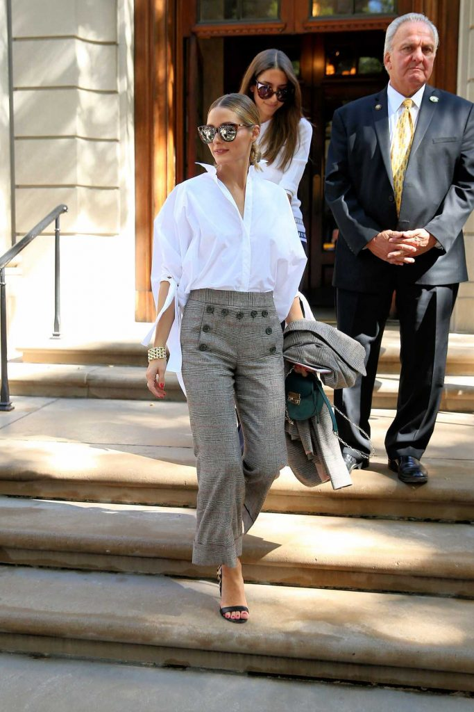 Olivia Palermo Attends Carolina Herrera SS17 at Frick Collection in New York City 09/12/2016-2