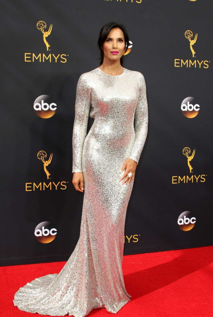 Padma Lakshmi at the 68th Emmy Awards in Los Angeles 09/18/2016-1