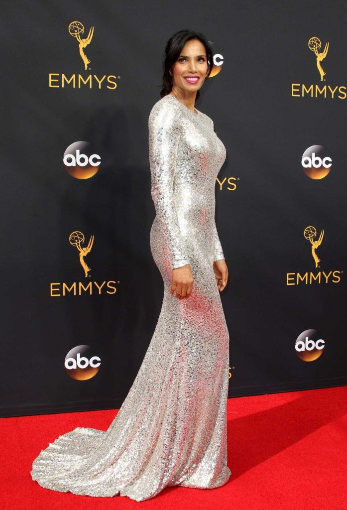 Padma Lakshmi at the 68th Emmy Awards in Los Angeles 09/18/2016-2