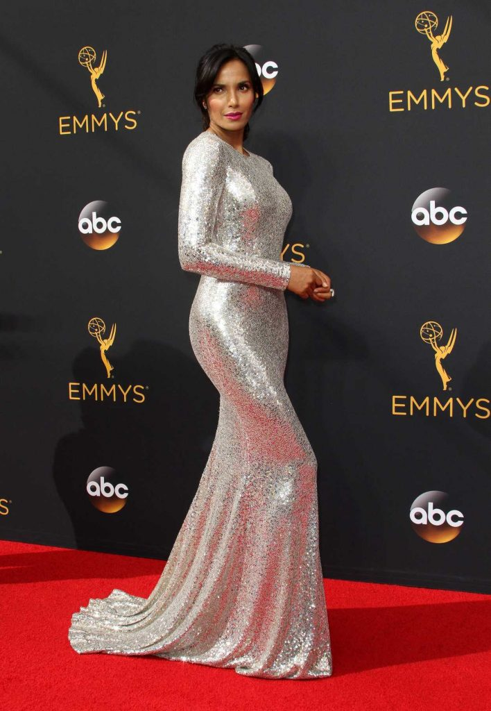 Padma Lakshmi at the 68th Emmy Awards in Los Angeles 09/18/2016-3