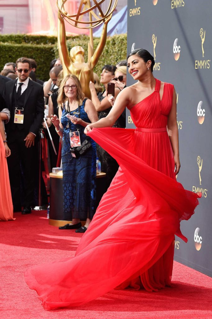 Priyanka Chopra at the 68th Emmy Awards in Los Angeles 09/18/2016-1