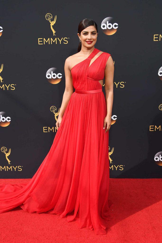 Priyanka Chopra at the 68th Emmy Awards in Los Angeles 09/18/2016-2